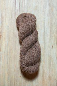 Laine à tricoter Shetland en écheveau