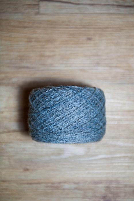 Laine à tricoter Or Bleu d'Amiens clair en pelote