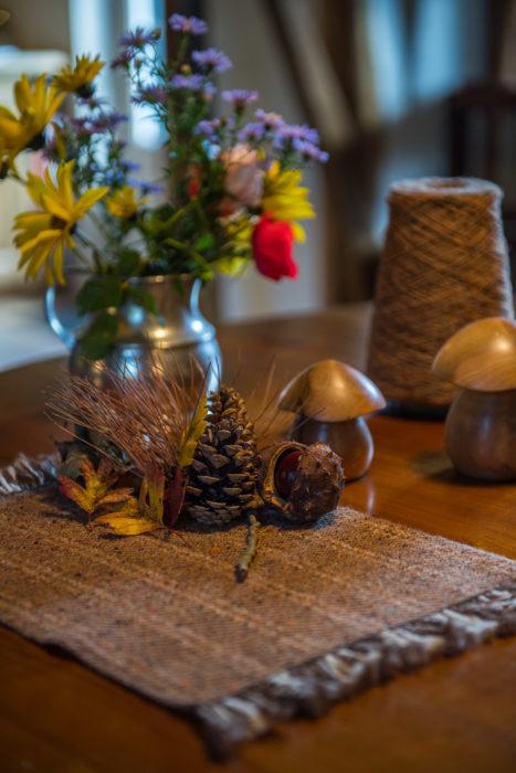 Sets de table Chestnut - présentation