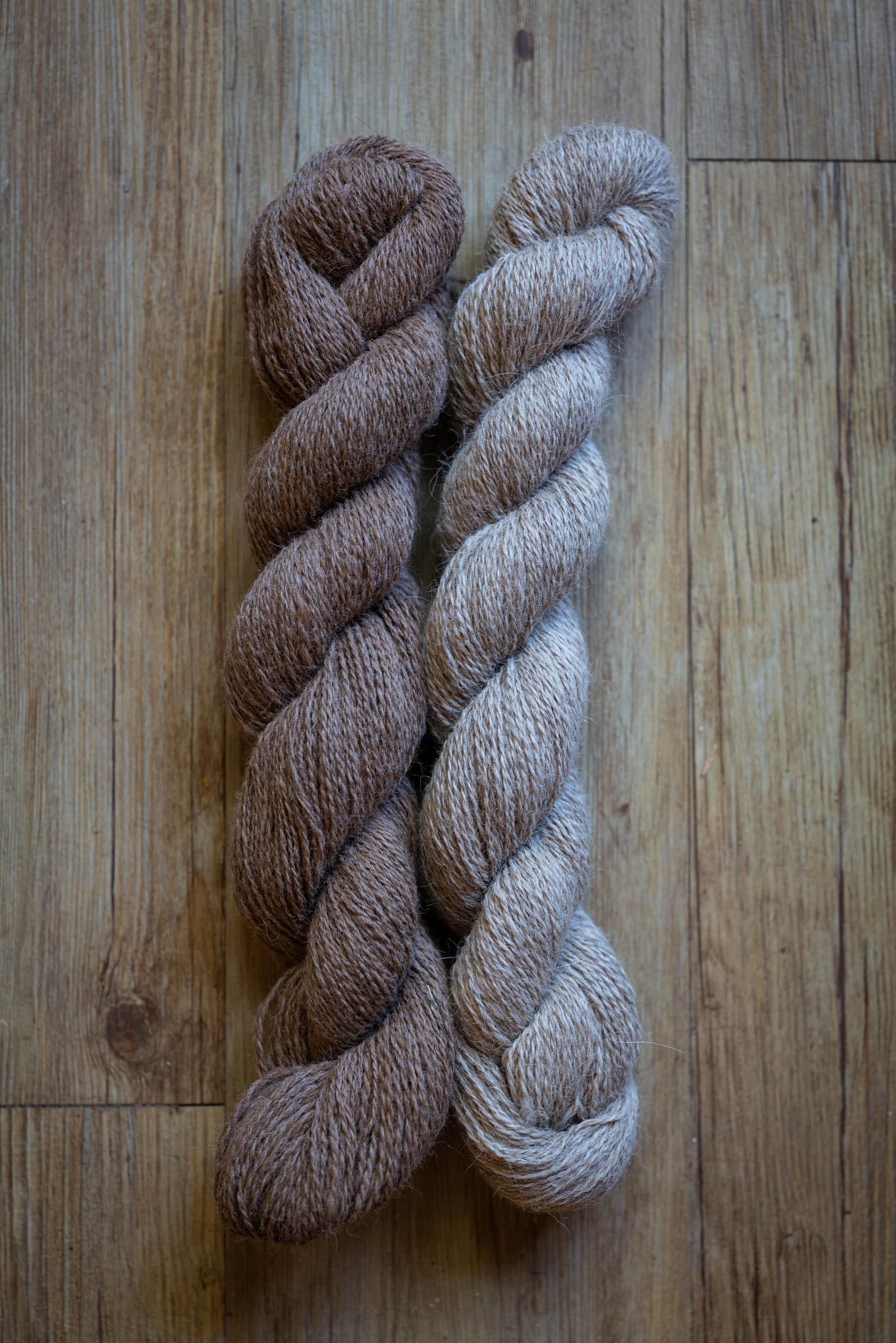 Laine à tricoter d'Alpaga en écheveau