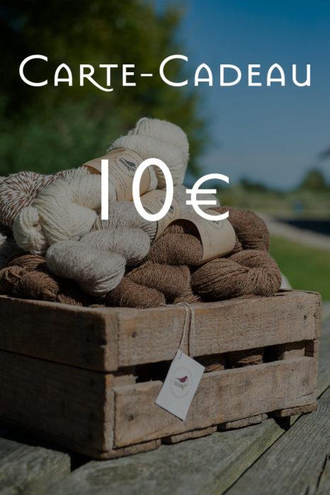 Carte-Cadeau de 10€