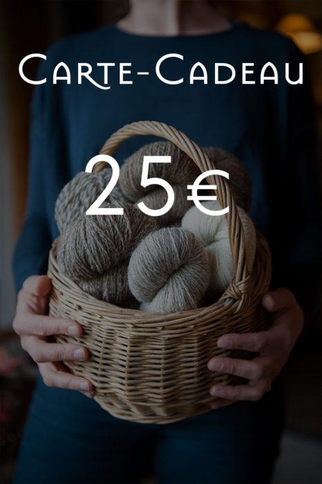 Carte-Cadeau de 25€