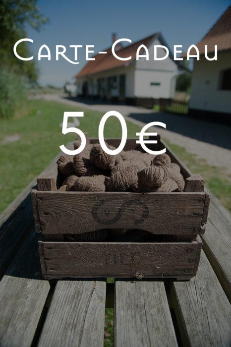 Carte-Cadeau de 50€