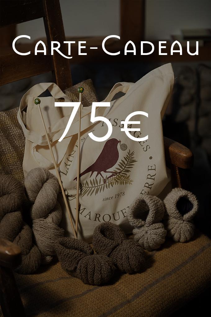 Carte-Cadeau de 75€