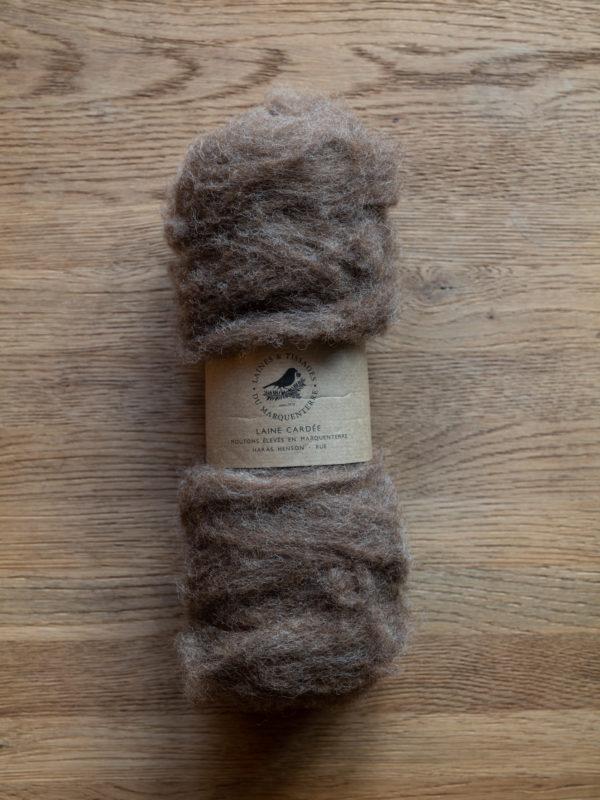 Laine cardée Shetland